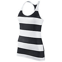 Buy Nike Rugby Tank Top, Black/White Online at johnlewis.com