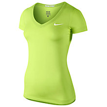 Buy Nike Pro Short Sleeve V-Neck T-Shirt Online at johnlewis.com