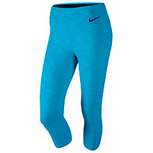 Buy Nike Legendary Tight Capri Trousers, Blue Online at johnlewis.com