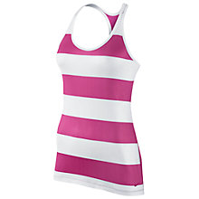 Buy Nike G90 Stripe and Mesh Back Training Tank Top, Hot Pink/White Online at johnlewis.com