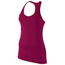 Buy Nike Get Fit Training Tank Top, Red Online at johnlewis.com