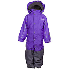 Buy Skogstad Children's Two-Layer All-In-One, Purple Online at johnlewis.com