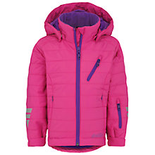 Buy Skogstad Girls' Bergset Primaloft Jacket, Hot Pink Online at johnlewis.com