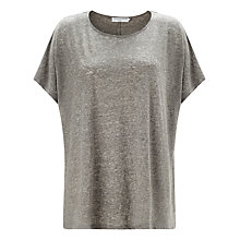 Buy John Lewis Capsule Collection Oversized Top, Grey Online at johnlewis.com
