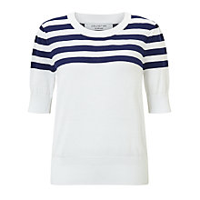 Buy COLLECTION by John Lewis Stripe Cotton Top Online at johnlewis.com