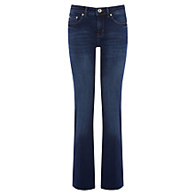 Buy Oasis Mid Wash Scarlet Bootcut Jeans, Denim Online at johnlewis.com