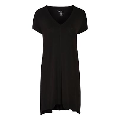 DKNY Urban Essentials Short Sleeve Nightdress, Black