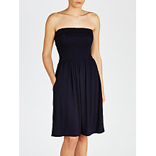 Buy John Lewis Jersey Bandeau Dress, Navy Online at johnlewis.com