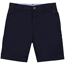 Buy Hackett London Boys' Chino Shorts, Navy Online at johnlewis.com