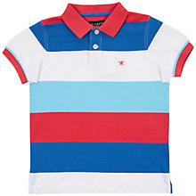 Buy Hackett London Boys' London Contrast Stripe Polo Shirt, Multi Online at johnlewis.com