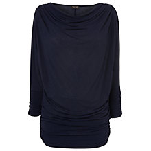 Buy Phase Eight Tessa Top, Navy Online at johnlewis.com