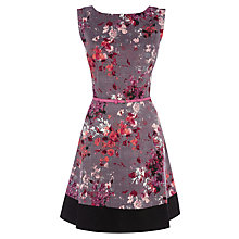 Buy Oasis Painterly Floral Skater Dress, Multi Online at johnlewis.com