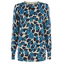 Buy Oasis Shadow Rose Jumper, Mid Neutral Online at johnlewis.com