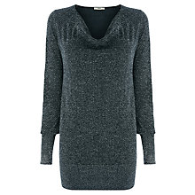 Buy Oasis Sparkle Cowl Neck Top Online at johnlewis.com