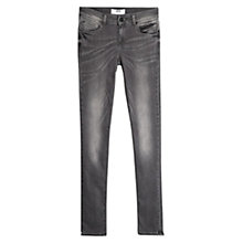 Buy Mango Skinny Olivia Jeans, Dark Grey Online at johnlewis.com