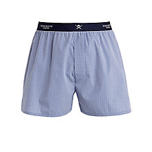 Buy Hackett London Gingham Woven Boxers, Navy Online at johnlewis.com