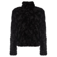 Buy Oasis Short Twisty Faux Fur Coat Online at johnlewis.com