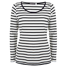 Buy Mint Velvet Striped Tee Online at johnlewis.com