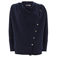 Buy Mint Velvet Asymmetric Cardigan, Navy Online at johnlewis.com