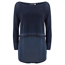 Buy Mint Velvet Shirt Tail Knit Top Online at johnlewis.com
