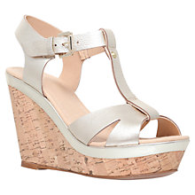 Buy Carvela Kabby Heeled Wedges Online at johnlewis.com