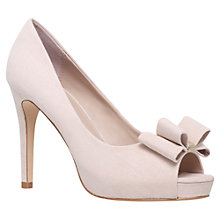 Buy Miss KG Carolina Peep Toe Court Shoes Online at johnlewis.com