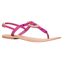 Buy Carvela Kouros Beaded Sandal Online at johnlewis.com
