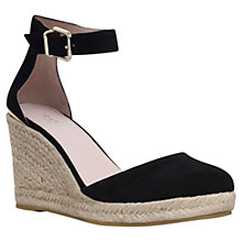 Buy Carvela Kold Suede Espadrille Wedge Sandals Online at johnlewis.com