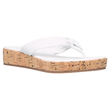 Buy Carvela Kredible Wedge Toe Post Flip Flip Sandals Online at johnlewis.com
