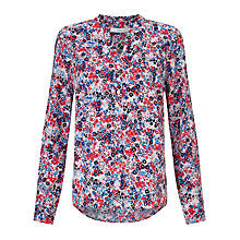 Buy John Lewis Garden Print Popover Tunic Top Online at johnlewis.com