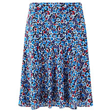 Buy Jigsaw Winter Bloom Skirt, Blue Online at johnlewis.com