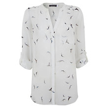 Buy Mint Velvet Frida Print Blouse, Multi Online at johnlewis.com