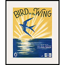 Buy Art Inspired by Music - Bird Online at johnlewis.com