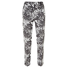 Buy Mint Velvet Mira Print Capri Trousers, Multi Online at johnlewis.com