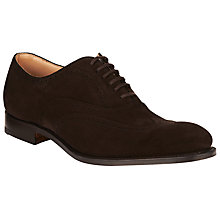 Buy Church's Berlin Brogue Shoes, Ebony Online at johnlewis.com