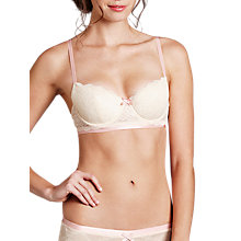 Buy Heidi Klum Intimates Madeline Contour Bra, Vintage Cream Online at johnlewis.com