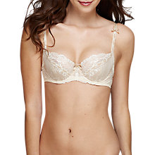 Buy Heidi Klum Intimates Amelie Contour Bra, Retro Cream Online at johnlewis.com