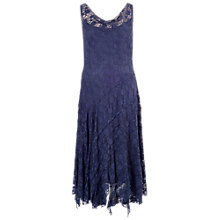 Buy Chesca Lace Cinderalla Dress, Night Sky Online at johnlewis.com