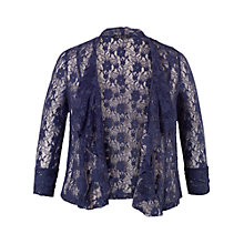 Buy Chesca Stretch Lace Shrug, Night Sky Online at johnlewis.com