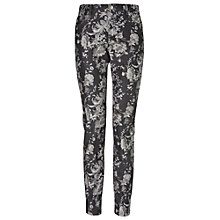 Buy Phase Eight Victoria Floral Jeans, Black/Grey Online at johnlewis.com