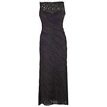 Buy Chesca Metallic Tipped Fancy Jersey Dress with Jacket, Black Online at johnlewis.com
