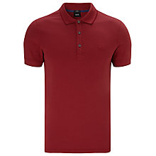 Buy BOSS Forli 15 Pique Short Sleeve Polo Shirt Online at johnlewis.com