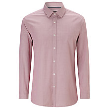 Buy BOSS Puppytooth Spot Shirt, Washed Red Online at johnlewis.com