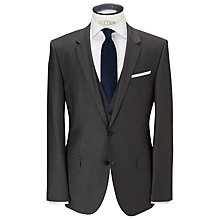 Buy BOSS Hayes Slim Fit Suit Jacket, Grey Online at johnlewis.com