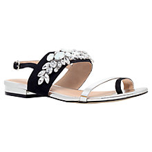 Buy Carvela Krumpet Embellished Sandal, Black Online at johnlewis.com