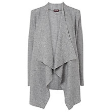 Buy Phase Eight Brogan Waterfall Knit Jacket, Silver Online at johnlewis.com