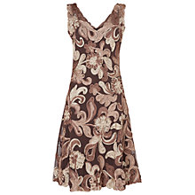 Buy Phase Eight Ottoline Tapework Dress, Praline/Cream Online at johnlewis.com
