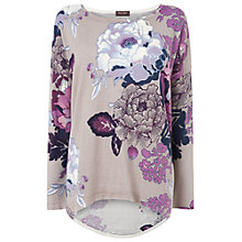 Buy Phase Eight Mable Print Knit Top, Multi Online at johnlewis.com