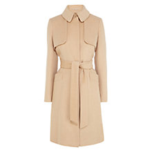 Buy Coast Highline Wool Coat, Tan Online at johnlewis.com