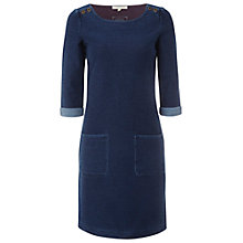 Buy White Stuff Kilmory Dress, Denim Online at johnlewis.com